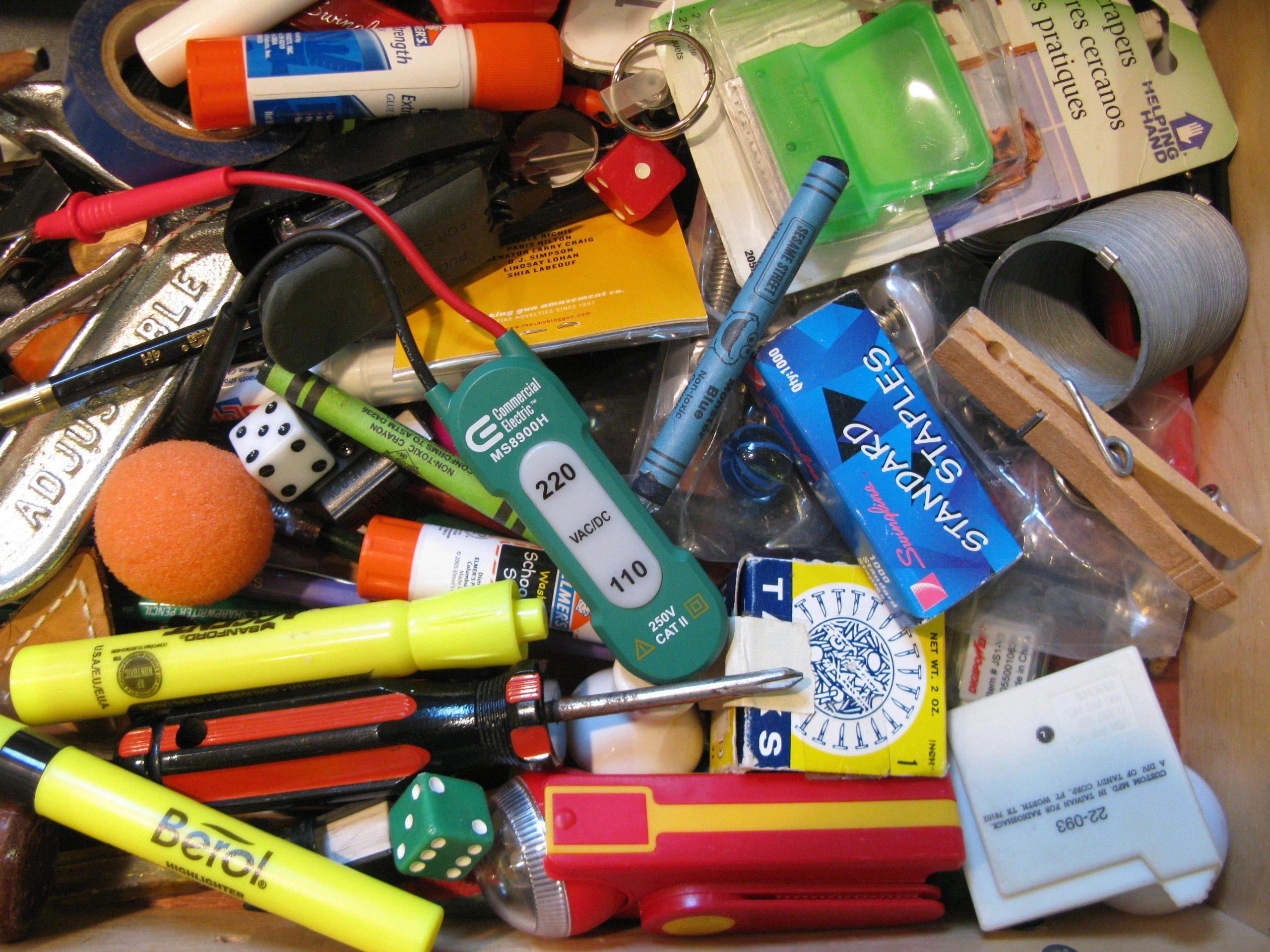 062 2230f7c29168981ad53bb5d42167895d945297a3 scaled - Sell Your Entire Junk Drawer?