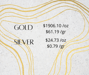 gold silver 1 2 300x251 - Gold and Silver Prices for October 20, 2020