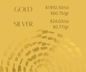 gold silver 3 300x251 - Gold and Silver Prices for October 13, 2020